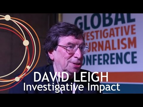 Investigative Impact I David Leigh (UK)