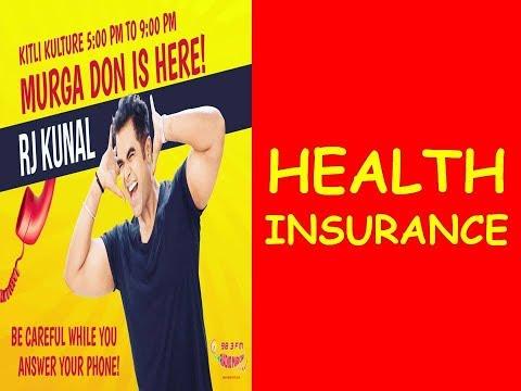 ||RJ KUNAL || MIRCHI MURGA ||HEALTH INSURANCE!!! ||