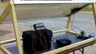 How to Build A Solar Generator DIY Survival Prepper Solar Panel Installation