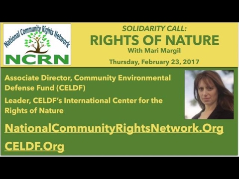 Rights of Nature: A New Paradigm for Environmental Protection with Mari Margil