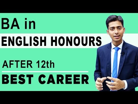 English Honours Best Career After 12th | Bachelor Degree in English | #11 | CREATE YOUR IDENTITY