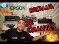 Comparativo Impressoras Tanque de Tinta Canon, Epson e HP - Discovery Pa...