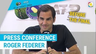 Roger Federer after his 10th title in Halle | Noventi Open | myTennis