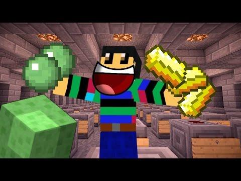 MineNation #52 ZELDZAME ITEMS IN DE BANK!! - Minecraft REAL WORLD!