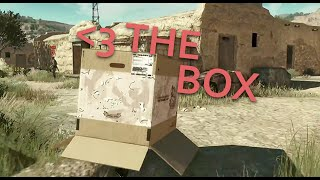 The Best Item In Metal Gear Solid V Is The Cardboard Box