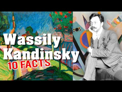 10 Amazing Facts about Wassily Kandinsky