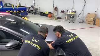 WORLD AUTO TINT-DETAIL -  Car window tinting Sacramento
