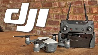 DJI Spark Mini Drone Quad-copter Review. Range, altitude, speed and tracking.