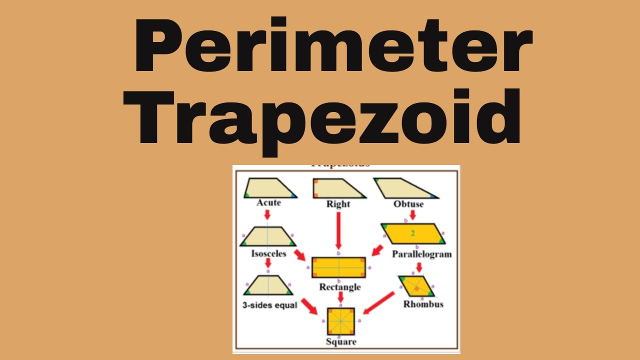 Perimeter Of A Trapezoidmoomoomath