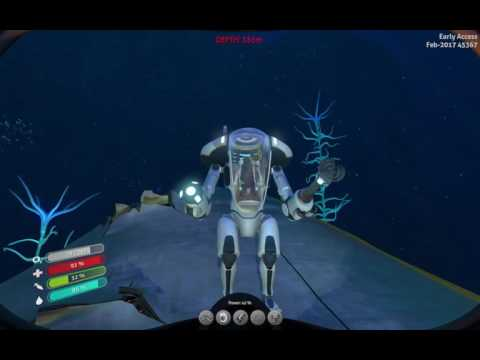 Subnautica TyredGamer PRAWN drill arm and lots of silver