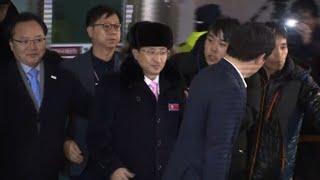 Los atletas norcoreanos llegan a Corea del Sur para los JJOO