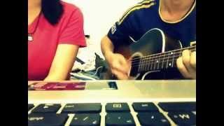 Sâu Trong Em guitar cover - Bích Phương - Trúc Phương ft Xuân Thiện