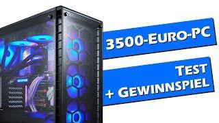 3500-Euro-Gaming-PC: Test + Gewinnspiel | HM08 planen | deutsch / german