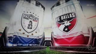 Pachuca vs FC Dallas 3-1  Semi Final CONCACAF Champions League 04/04/2017
