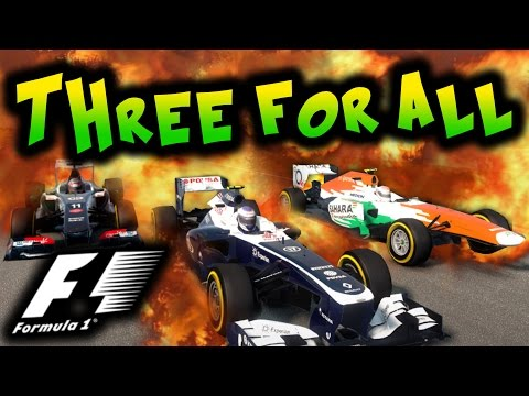 F1 THREE-FOR-ALL #1: THE BANTER BEGINS!!!