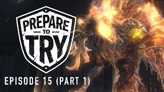 Prepare To Try Bloodborne Episode 15 Part 1 - Getting to Laurence the First Vicar