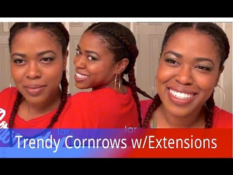 Natural hair trendy french braided cornrows with extensions natural hair trendy french braided cornrows with extensions pmusecretfo Gallery