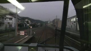 【完全走破28】前面展望ワイドビューひだ11号 速星-富山