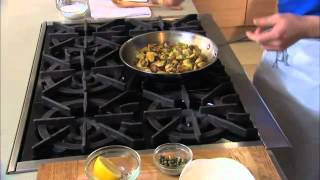 Fried Brussel Sprouts With Bryce Gilmore