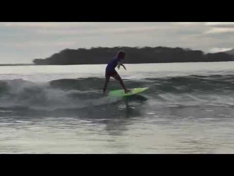 Drake Palm  Surfing Wewak Papua New Guinea 10 years old