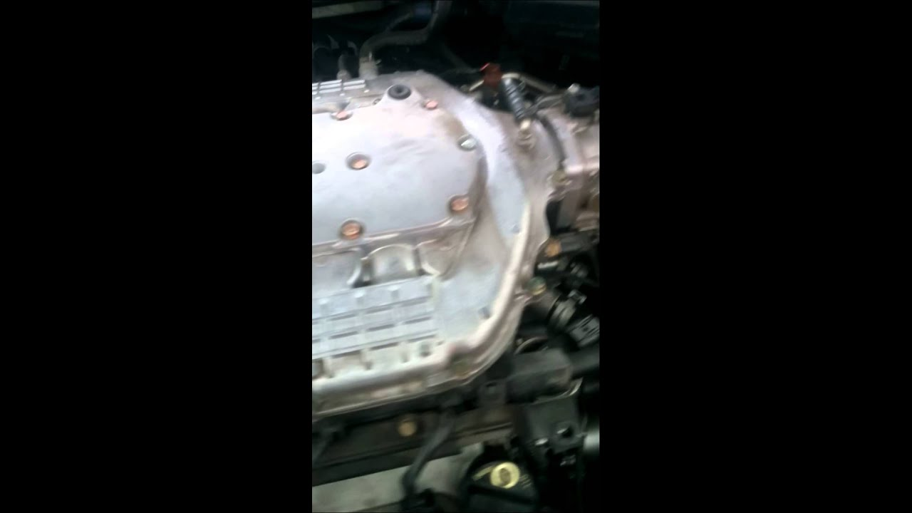 2005 Acura Rl Noise From Belt Or Engine