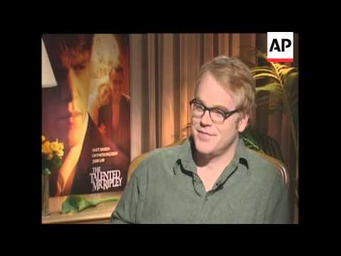 The cast talk about their film The Talented Mr Ripley