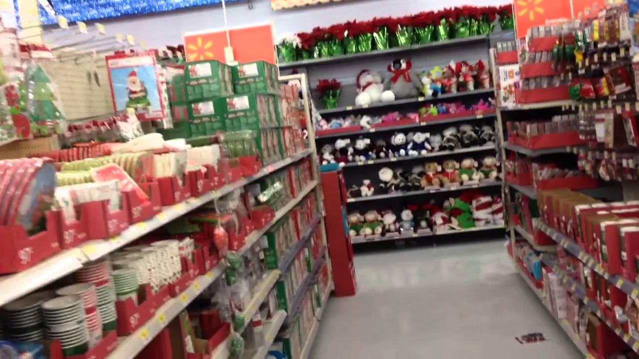 Christmas Stuff At Walmart - YouTube