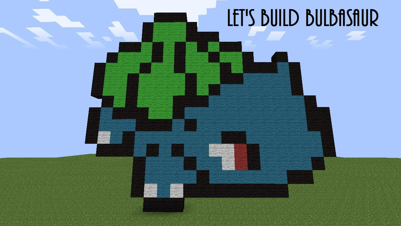Minecraft Let S Build Bulbasaur W Commentary Youtube