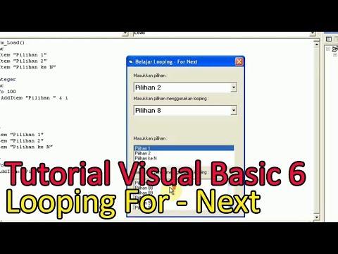 Cara Looping Di Visual Basic