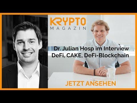 Dr. Julian Hosp im Interview - DeFi, CAKE, DeFi Blockchain