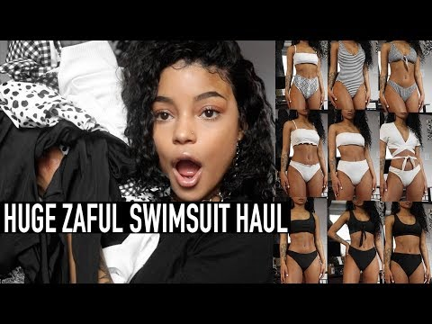 HUGE TRY-ON ZAFUL SWIMSUIT HAUL || ARIANA.AVA