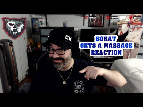 Borat - Gets a Massage REACTION - YouTube