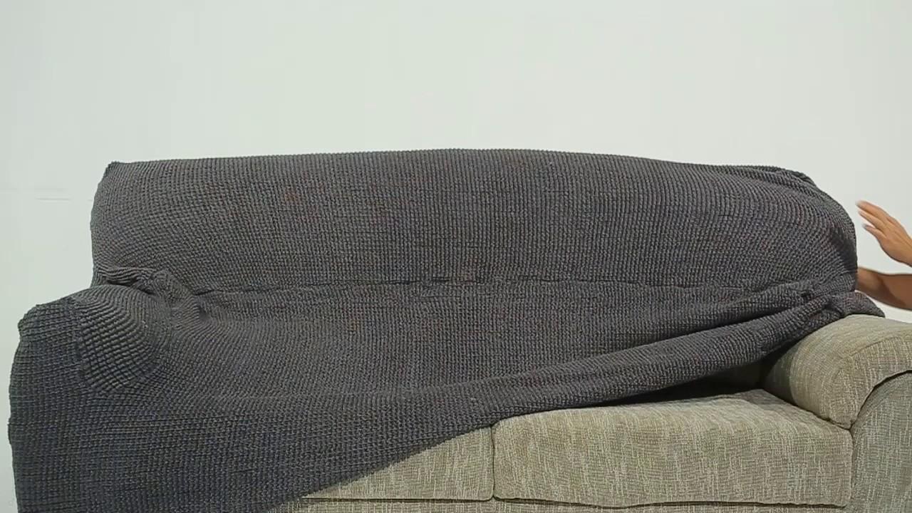 Nueva Textura Fundas Sofa.Funda Sofa Elastica Glamour Youtube
