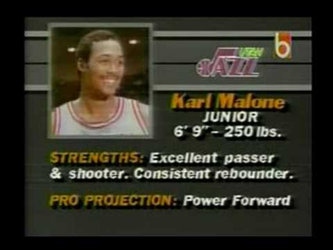 1985 NBA Draft: Karl Malone
