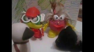 Вольт против картофелек / мультфильм с игрушками про супер-собаку