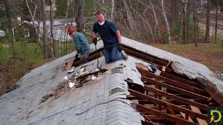 Demolishing the old house, DIY (Part 1)