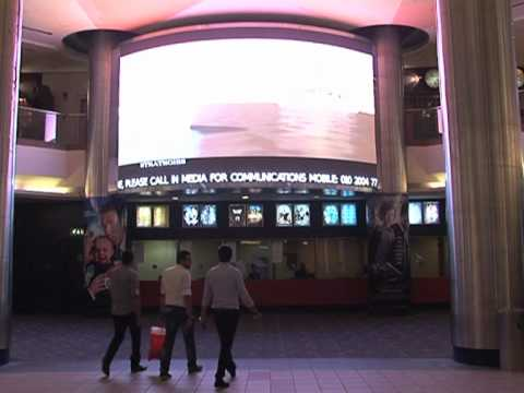 In Media launched the hugest advertising Curvy screen at CityStars, Cairo, Egypt