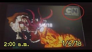 La misteriosa fecha 1/6/18 que aparece en Cartoon Network a las 2 am