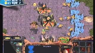 [2003.01.31] 2002 Panasonic배 온게임넷 스타리그 3,4위전 3경기 (개마고원) 홍진호(Zerg) vs 박경락(Zerg)