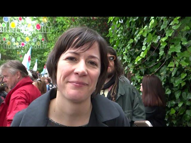 """Ana Pontón: """"Chamo á mocidade galega a sumarse á rebeldía do galego"""""""