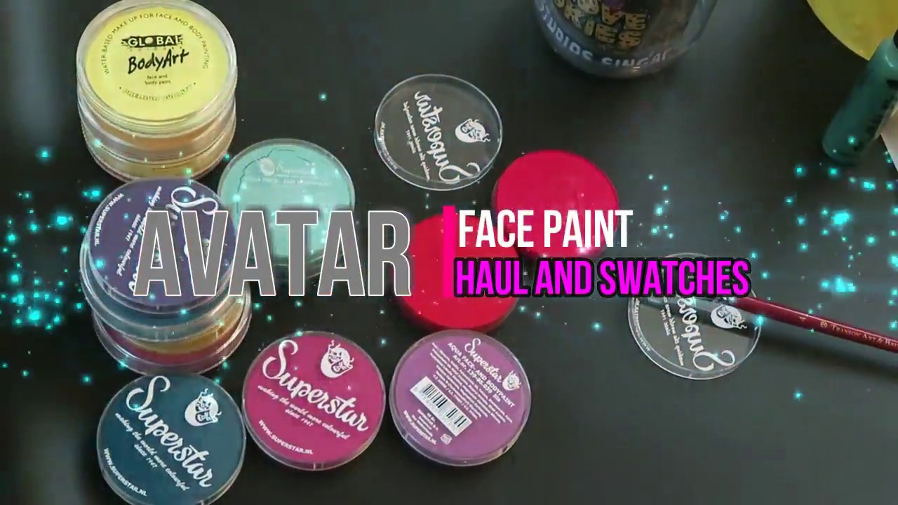 superstar face painting