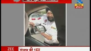 Manpreet Badal caught two police officers taking bribes red handed, suspends both