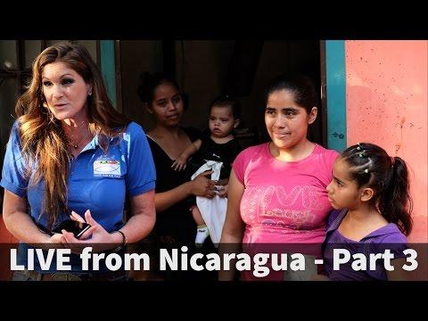 Dani Johnson LIVE!  Breaking news from Nicaragua!!!