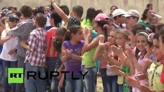 Россия доставила гуманитарную помощь в сельскую школу в Сирии