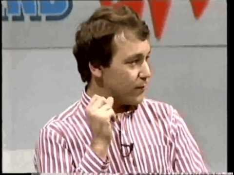 Sam Raimi on UK TV show Central Weekend ( '87? ) Part 1