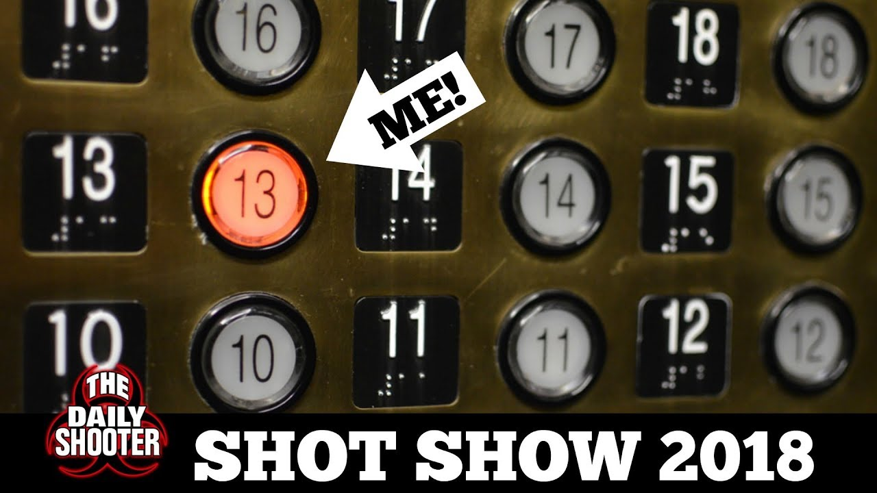 13th FLOOR??!! SHOT Show 2018