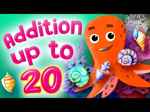 Learn Addition  Addition for Kindergarten  Addition up to 20  Kids Academy