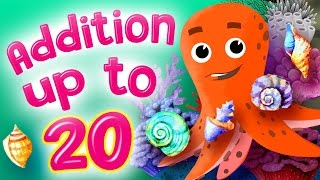 Learn Addition   Addition for Kindergarten   Addition up to 20 by Kids Academy