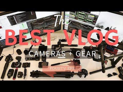The Best Travel Vlog Cameras & Gear setup for 2017