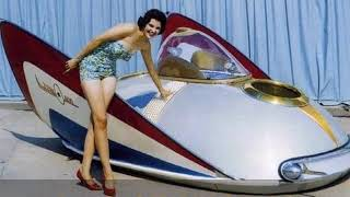 Concept Cars Of The Atomic-Space Age!